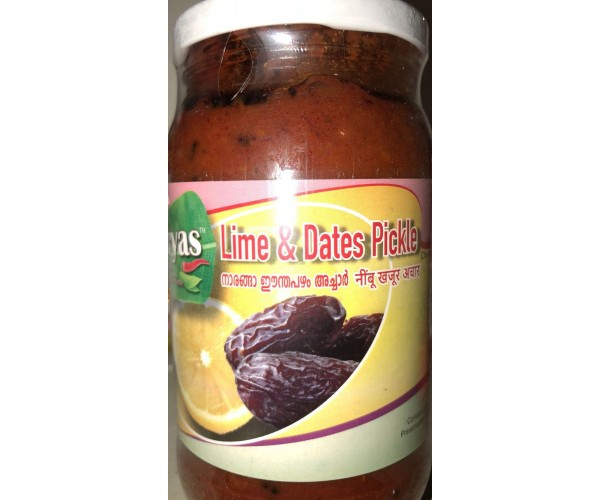 DATES & LIME PICKLE 400GM